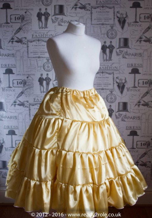 sissy handcrafted petticoats