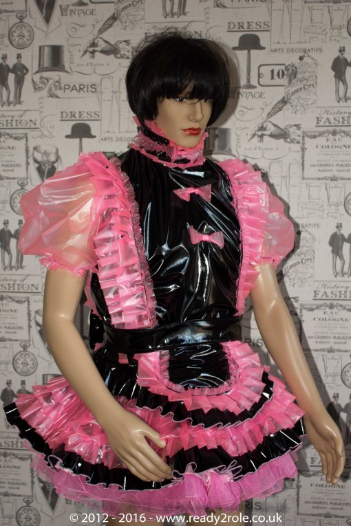 Sissy PVC Dress - The Kimberly