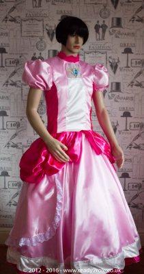 Sissy Dress Princess Peach