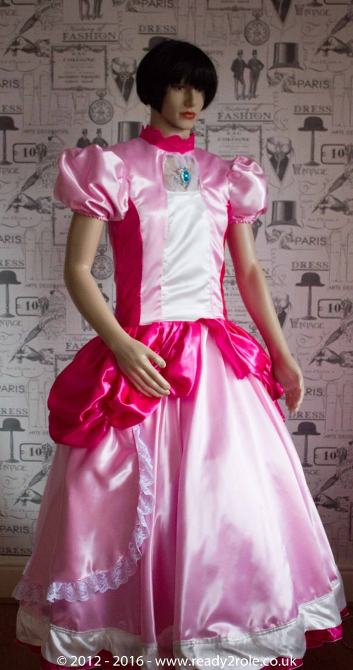 Sissy Dress Princess Peach