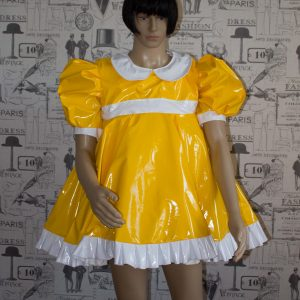 Sissy Baby Doll Dress Yellow PVC by Ready2Role JAN17 300x300 Ready2role