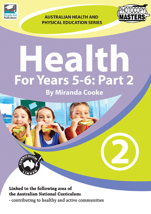 AHPES Health For Years 5-6: Part 2 | Ready-Ed Publications