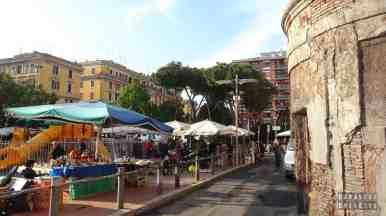 Rzym (Zatybrze) - targ PORTA PORTESE