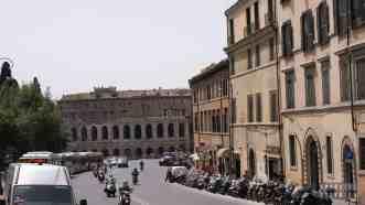 Widok spod Kapitolu w Rzymie