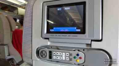 Zestaw multimedialny na pokładzie Emirates na trasie Warszawa Dubaj