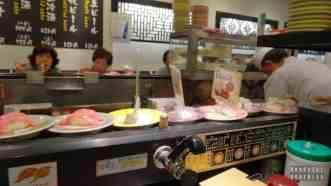 Tokio Japonia - tokijski sushi bar