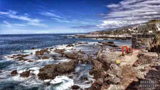 Deptak w Puerto de la Cruz - Teneryfa