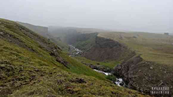 Hengifoss - Islandia północna