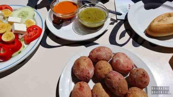 Teneryfa - jedzenie na Teide