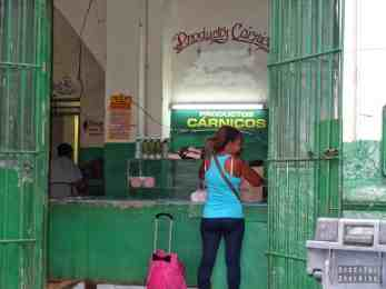 Sklep w Hawanie - Kuba