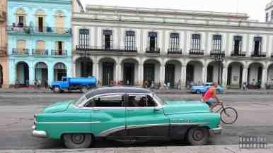 Stare kubańskie samochodu - Hawana