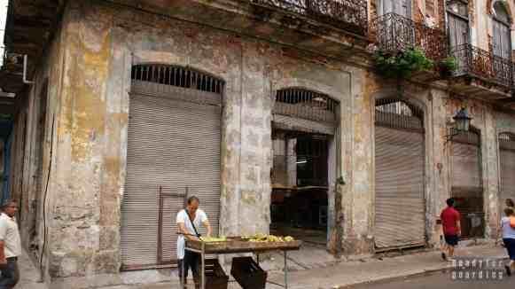 Stragan na ulicy, Hawana - Kuba