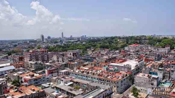 Widok na Hawanę - Kuba