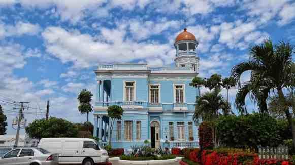 Palacio Azul w Cienfuegos - Kuba