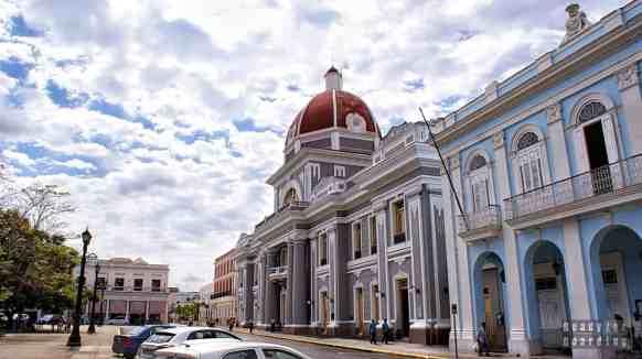 Palacio de Gobierno w Cienfuegos - Kuba