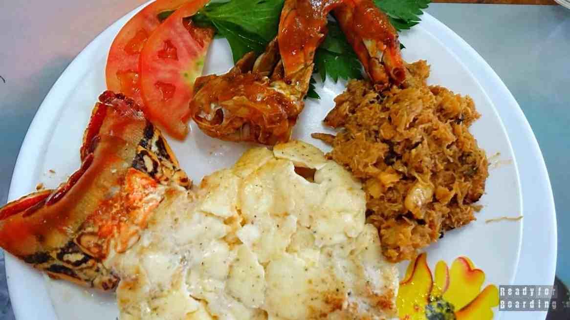 Langusta na kolację w Playa Larga - Kuba