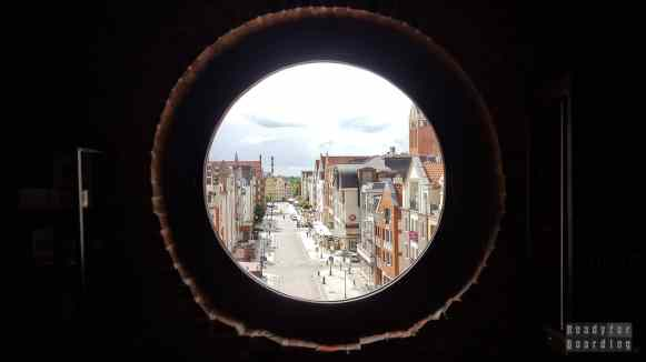 Elbląg - Widok z Bramy Targowej