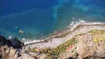 Widok z klifu - Madera
