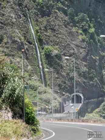 Wodospad na Maderze