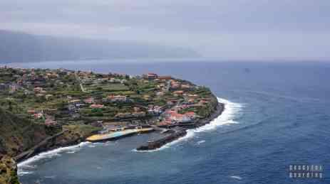 Widok na Ponta Delgada, Madera