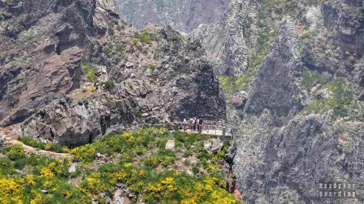 Punkt widokowy - Pico do Arieiro, Madera