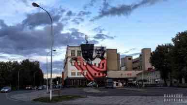 Mural w Kownie