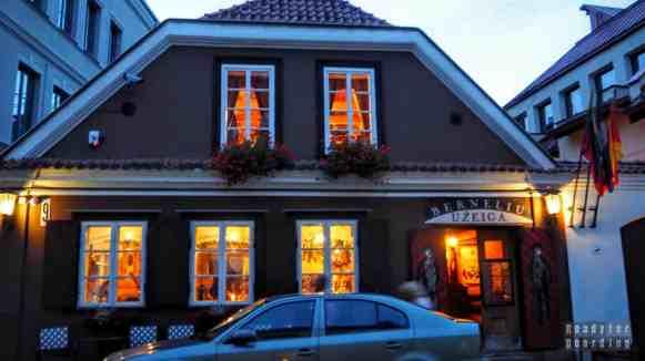 Restauracja w Kownie