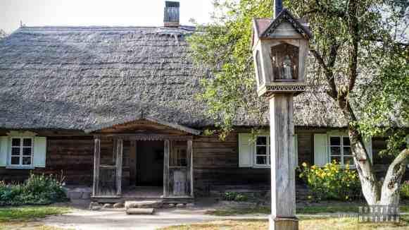 Chata - Żmudź, Skansen w Rumszyszkach - Litwa