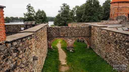 Fosa, Zamek w Trokach