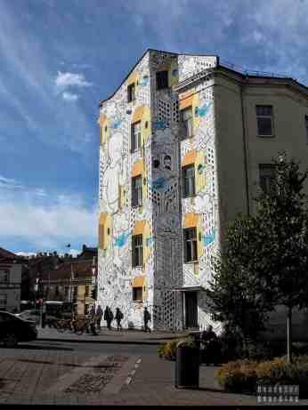 Mural w Wilnie