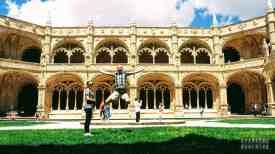 Klasztor Hieronimitów - dziedziniec