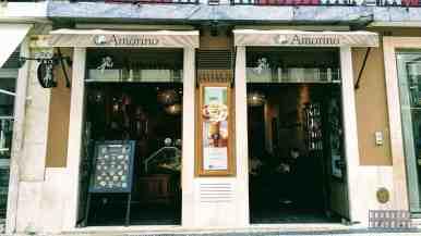 Lodziarnia Amorino w Lizbonie