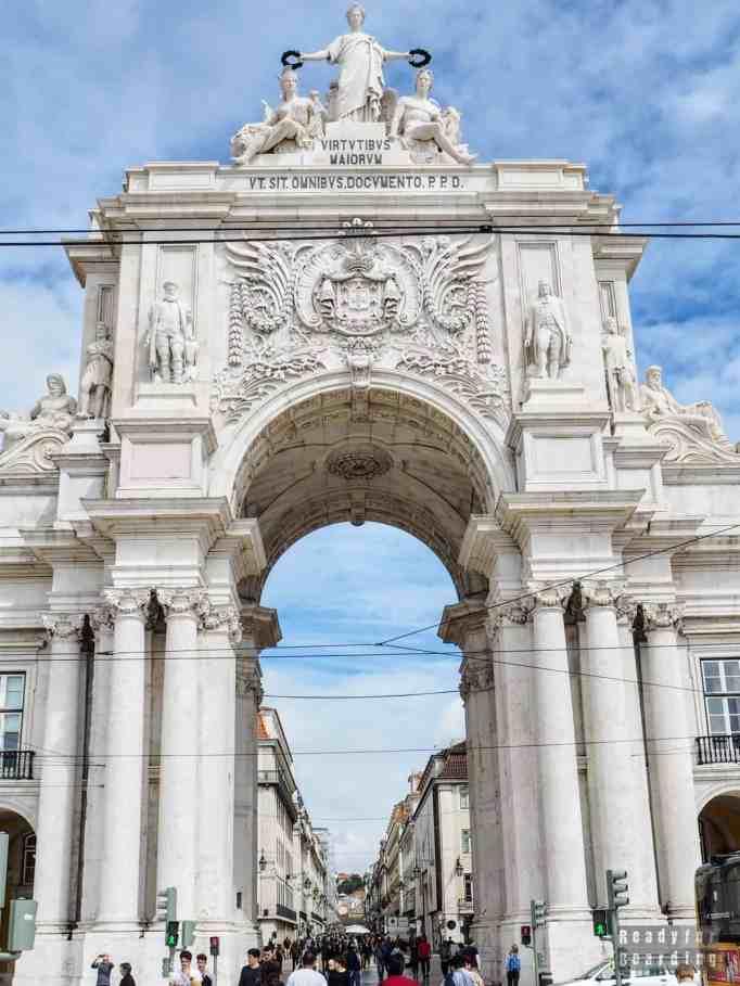 Arco da Rua Augusta, Lizbona