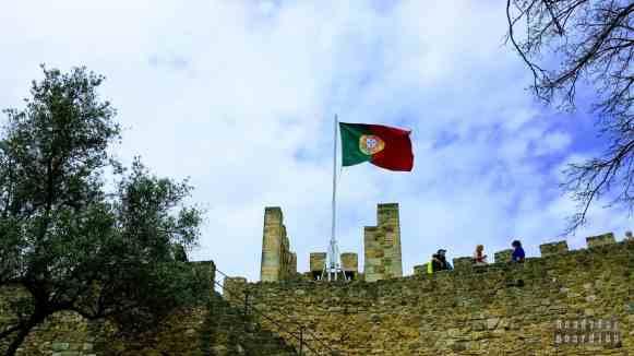 Castelo de Sao Jorge - Lizbona