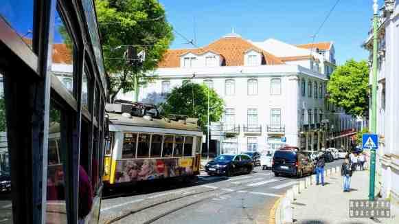 Przejażdżka tramwajem nr 28, Lizbona