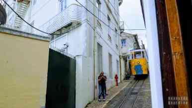 Portugalskie windy w Lizbonie