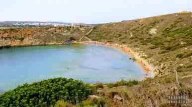 Ghajn Tuffieha Bay - Malta