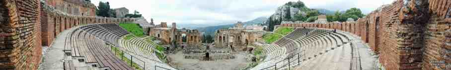 Teatro Greco, Taormina - Sycylia