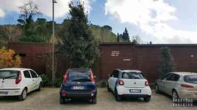 Parking przy Villa Romana del Casale - Sycylia