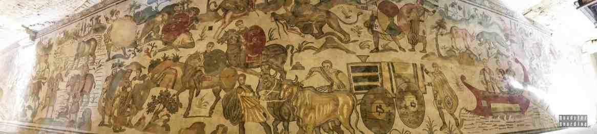 """""""Ambulacrodella Scena della Grande Caccia"""", Villa Romana - Sycylia"""