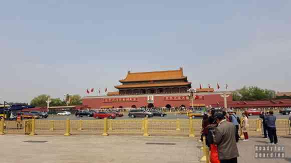 Brama Niebiańskiego Spokoju, Pekin