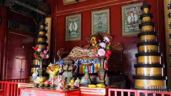 Budda w Świątyni Lamy