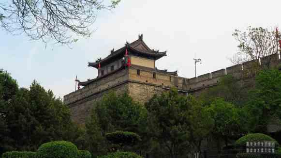 Mury miasta w Xi'an - Chiny