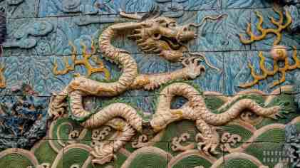 """""""Dziewięć Smoków"""" - Zakazane Miasto, Pekin"""