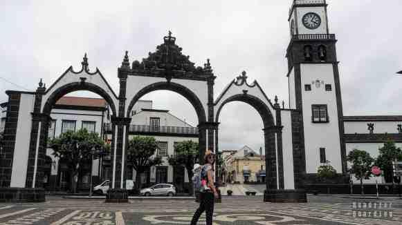 Brama miejska - Ponta Delgada, Azory