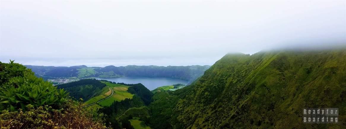 Jezioro Niebieskie, Azory