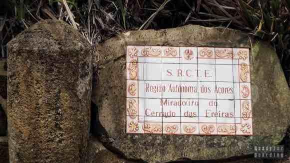 Miradouro do Cerrado das Freiras, Azory
