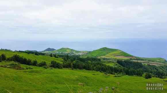 Zachodnia część wyspy São Miguel, Azory