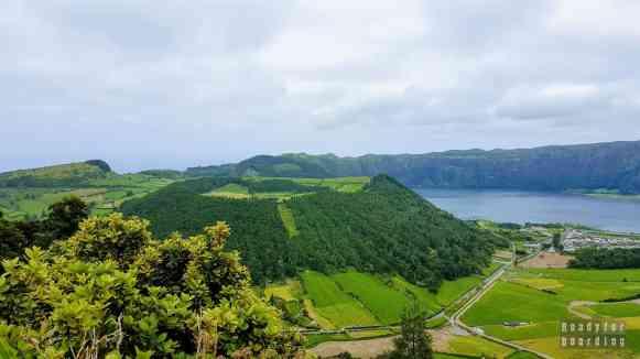 Krater wulkanu, Azory