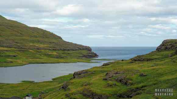 Jezioro Niðara Vatn, Eiði, Eysturoy - Wyspy Owcze